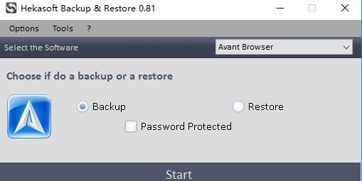 浏览器书签备份(hekasoft backup restore) v0.81 官方版 图0