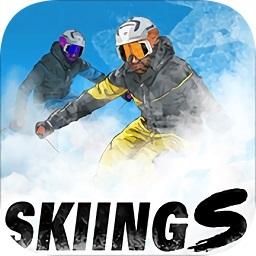 奇幻滑雪手机游戏