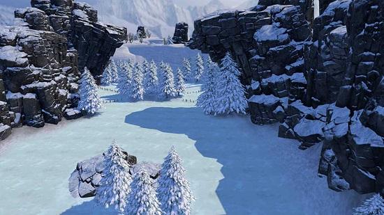 奇幻滑雪手机游戏 v1.1 安卓版 图0