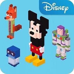 迪士尼天天过马路无限金币版
