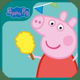 小猪佩奇运动会英文版