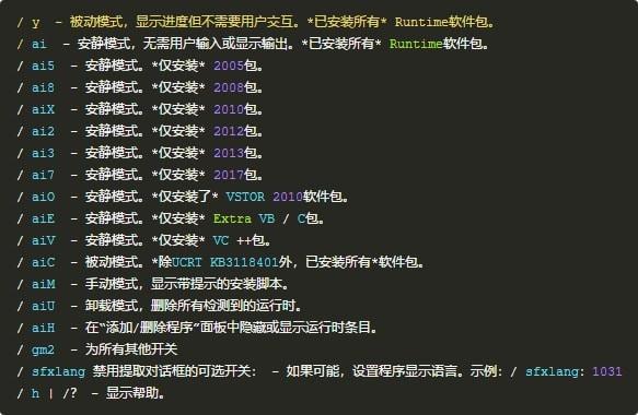 vc运行库合集包(visualc++) 官方版 图0